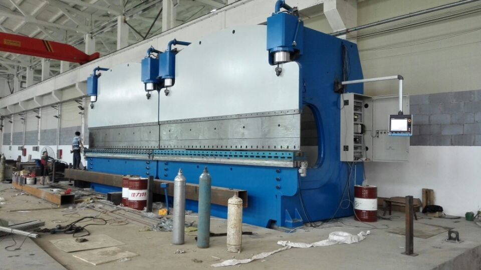 High Efficiency CNC Tandem Press Brake Double Bending Machine 18000mm 16mm