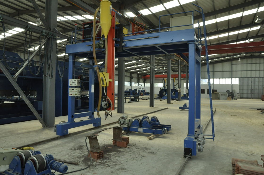 High efficiency Light Pole Machine , High Mast Gantry welding machine for large pipe / tube