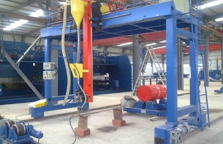 Automatic Gantry Welding Machine For High Mast seam weld And Huge Pipe / tube  300 - 2000mm